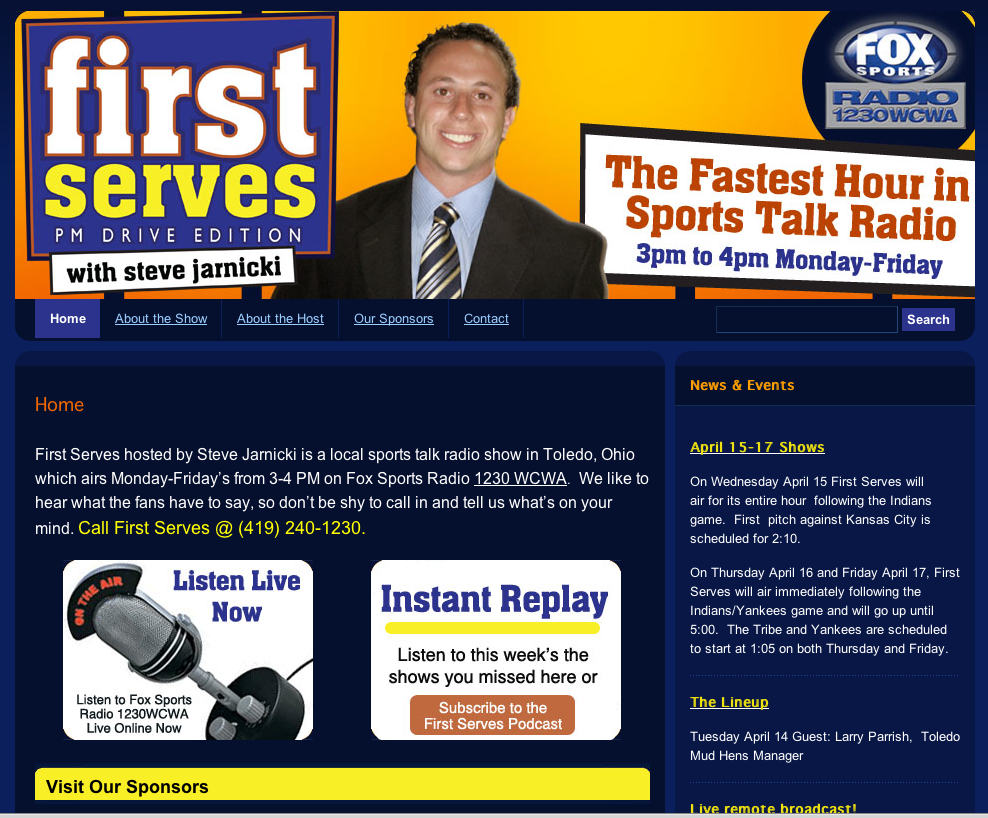 FirstServesRadio.com | Home Page